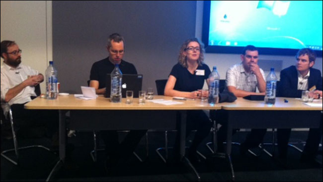 News:rewired linked data panel - photo by Dataminer