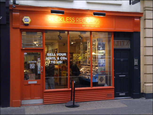Reckless Records on Berwick Street in 2011