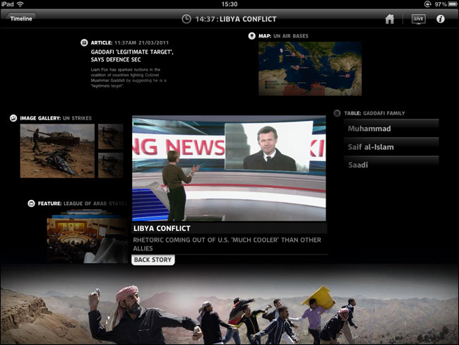 Sky News Libya Package