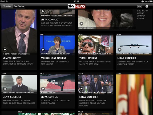 Sky News Top Stories