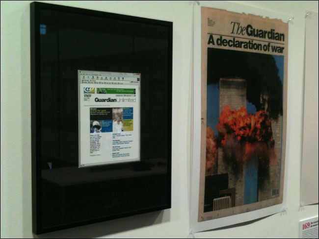 9/11 and Guardian Unlimited side-by-side at Guardian 190