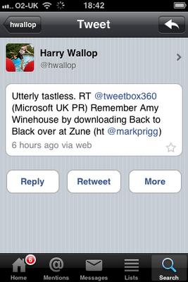 Microsoft Pr Tweet