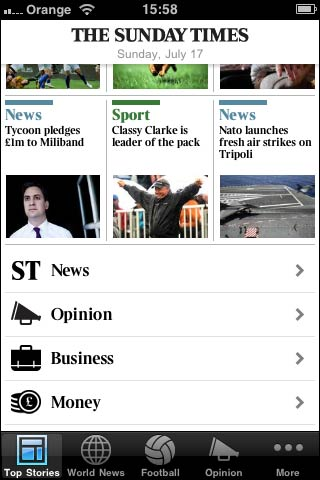 Sunday Times app icon
