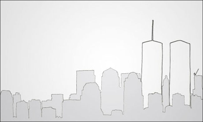 New York skyline graphic