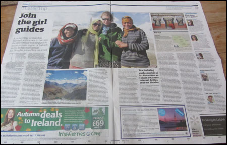 Ladakh Travel Print Article