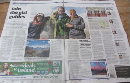 Ladakh Travel Print Article