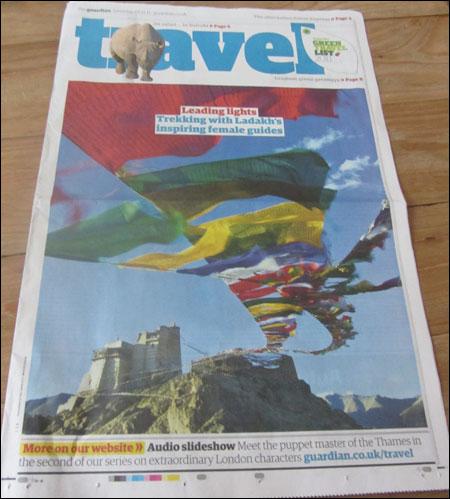 Ladakh Travel Print Section