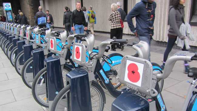 Poppies London Bikes