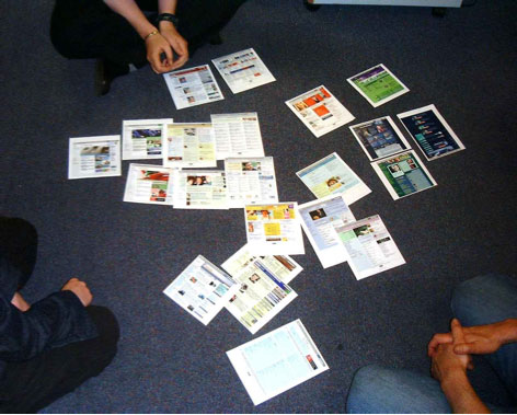 BBCi homepage redesign workshop
