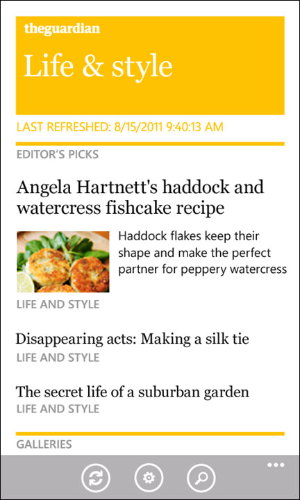 Guardian Windows Phone