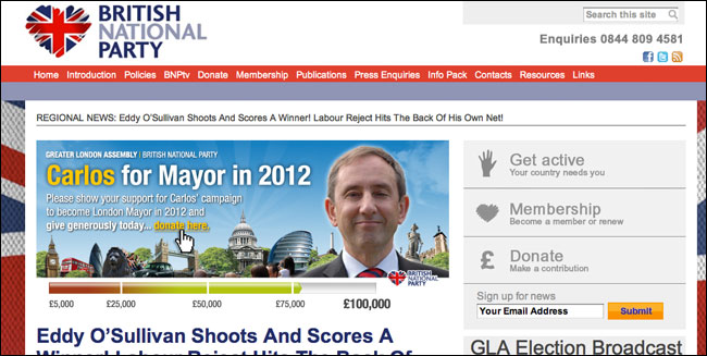 Bnp Homepage