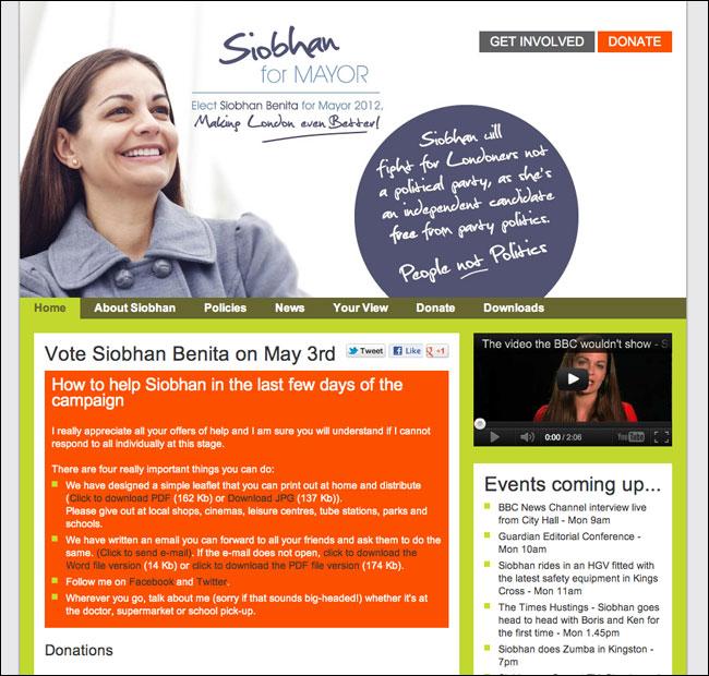 Siobhan Homepage