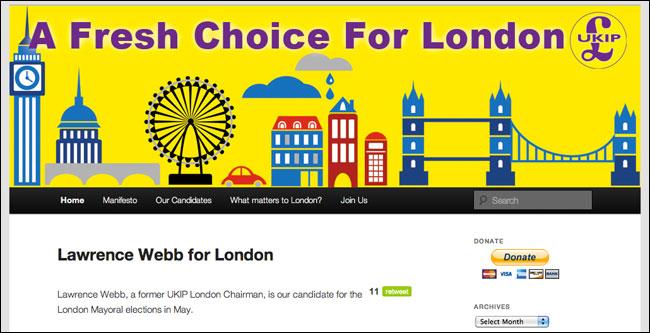 Ukip Homepage