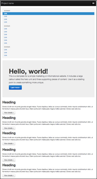 Euroia Bootstrap Responsive