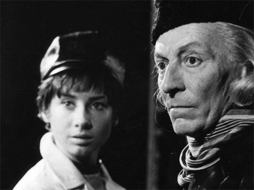 William Hartnell and Carole-Anne Ford as the First Doctor and Susan