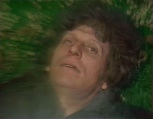 Tom Baker's final Doctor Who scene