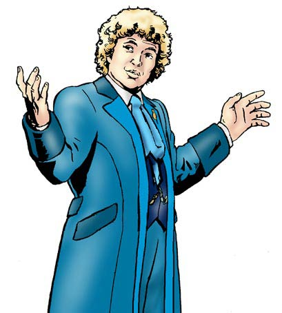 Colin Baker in Real Time