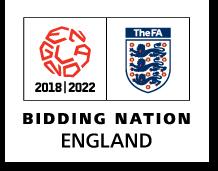 England 2018/2022 bid logo