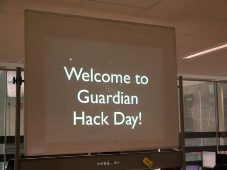 Welcome to Guardian Hack Day