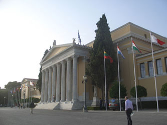 The Zappeion, a purpose built Olympic venue from 1896