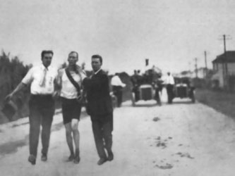 1904 marathon 'winner' Tom Hicks