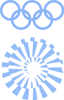 1972 Munich Olympic emblem