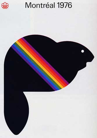 1976 Olympic Poster for Montreal