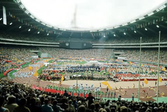 1976 Olympic opening ceremony