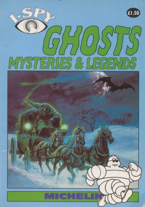 I-Spy Book of Ghosts, Mysteries and Legends, 1995 Front Cover