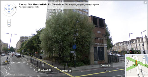 Google Street View of City Road