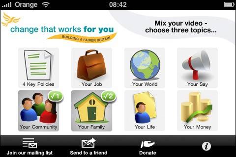 Liberal aus mobilen apps
