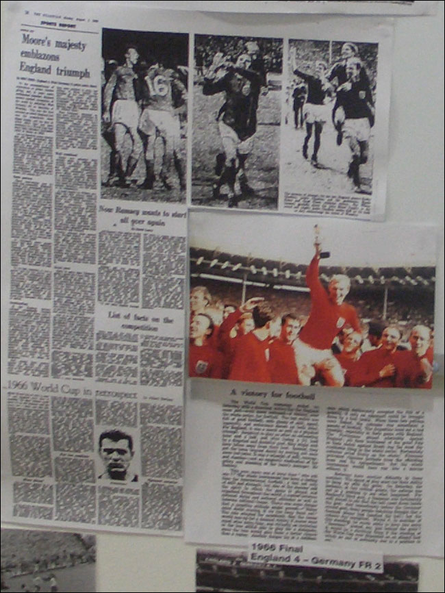 Guardian coverage of England's 1966 World Cup triumph