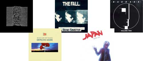 Albums I played a lot in the 1980s