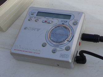 Playlist Minidisc Portable