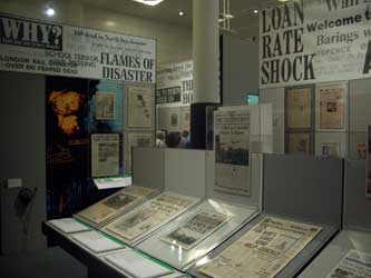 British Library newspaper exhibition