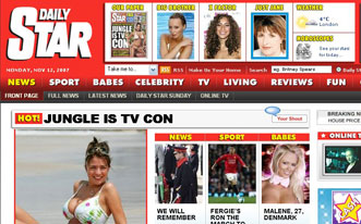 The re-designed Daily Star