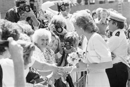Diana visits St Albans in 1989