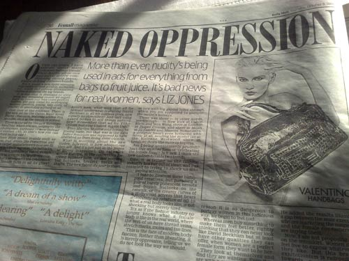 Naked Oppression in the Daily Mail