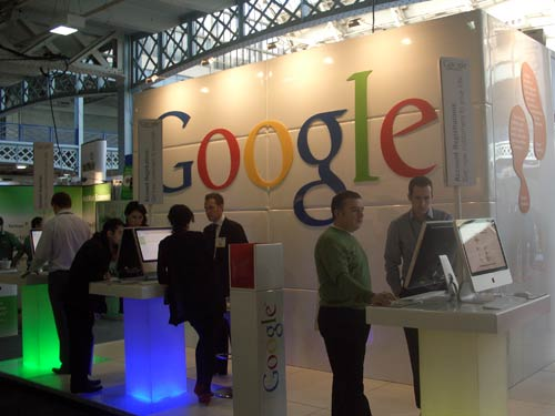 Google stand at eCommerce Expo