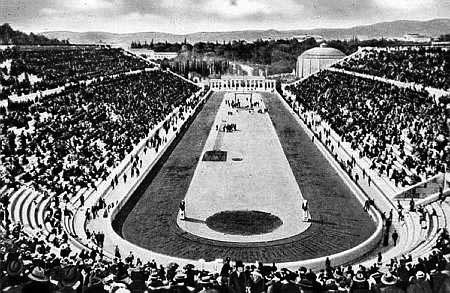 1906 Olympic Stadium in Athens