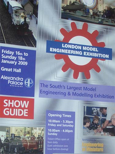 Exhibition programme with logo