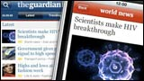 Guardian iPhone application
