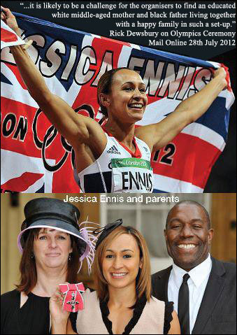 Jessica Ennis and family