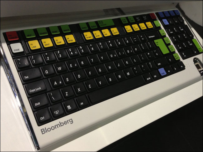 The Bloomberg terminal custom keyboard