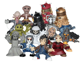 Tenth Doctor Time Squad figures