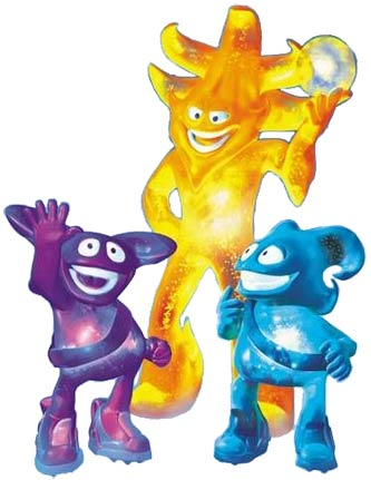 2002 World Cup mascots